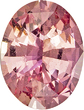 Deal on Padparadscha Rich Pink Orange Sapphire Unheated Gem in Oval Cut, 7.6 x 5.84 x 3.73 mm, 1.23 carats with GIA Cert.