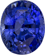 Deal on Rich Ceylon Blue Sapphire Gem in Oval Cut, 9.9 x 8.3 mm, 4.00 carats