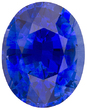 Perfection in Ceylon Super Gem Blue Sapphire - Vivid Color, Clean, A+ Cut in Oval Cut, 3.87 carats - GIA Certified