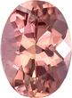 Imperial Topaz Loose Gem in Oval Cut in Beautiful Peachy Sherry Color in 6.7 x 5.0 mm, 0.87 carats