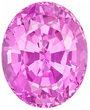 Grade AA - Oval Genuine Pink Sapphire 4.00 x 3.00 mm to 7.00 x 5.00 mm