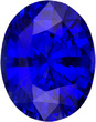 Truly Beautiful Oval Blue Sapphire Faceted Gem Stone In Oval Cut, Intense Color in  9.8 x 7.7 mm, 3.22 carats
