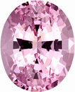 Fabulous Unheated Icy Pink Spinel Gemstone for SALE, Oval Cut, 2.26 carats