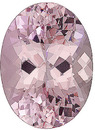 Magnificent Beauty, Elegant Unheated Brazilian Morganite for SALE! Oval Cut, 12.31 carats