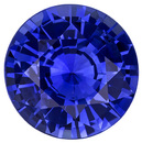 Super GEM Ceylon Fine Blue Sapphire - Super Bright Clean & Lively in 8.50mm Round Cut, 2.78 carats