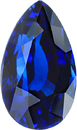 Royal Blue Certified GRS Sapphire in Pear Cut, Fine Color Gemstone in 13.89 x 8.35 mm, 7.18 Carats - With GRS Certificate