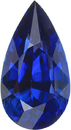 Stunning Vivid Blue Ceylon Sapphire Loose GRS Certified Gemstone in Pear Cut, Intense Blue, 17.38 x 9.35 mm, 9.16 Carats - With GRS Certificate