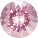 Great Buy on Morganite Gem in Round Cut, Vivid Pink Peach, 9.9 mm, 3.11 carats