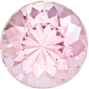 Fiery Loose Morganite in Round Cut, Vivid Baby Pink Color in 9.0 mm, 2.67 carats - SOLD