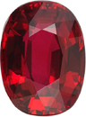 Special GRS Ruby Oval Cut, Vibrant Crystal Red Color in 9.96 x 7.40 mm, 3.18 Carats - With GRS Certificate