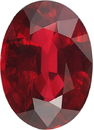 Stunning Red Ruby Loose Oval Cut Gemstone, Great Buy in 8.89 x 6.46 mm, 2.00 Carats - With GRS Certificate