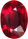 Deal on Striking Gem Ruby in Fine Medium Tone Red Color, 9.14 x 6.45 mm, 2.02 Carats - With GRS Certificate