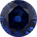 Bargain Priced Sapphire Loose Gem in Round Cut, Medium Violet Blue, 7.75 mm, 2.39 Carats