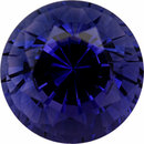 Low Price On Sapphire Loose Gem in Round Cut, Medium Blue Violet, 7 mm, 1.93 Carats