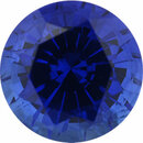 Top Gem Sapphire Loose Gem in Round Cut, Medium Violet Blue, 5.98 mm, 1.12 Carats