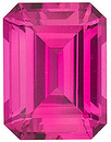 Grade GEM CHATHAM CREATED PINK SAPPHIRE Emerald Cut Gems  - Calibrated