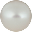 Grade AA - Round Half Drilled Genuine White Freshwater Pearl 4.00 mm to 9.50 mm