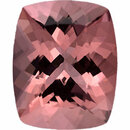 Amazing Morganite Loose Gem in Antique Cushion Cut, Light Purple Pink, 15.62 x 12.63 mm, 9.15 Carats