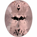 Faceted Morganite Loose Gem in Oval Cut, Medium Purple Red, 16.01 x 12.03 mm, 8.73 Carats
