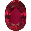 Good Looking  Untreated Ruby Loose Gem in Oval Cut, Vibrant Red, 7.07 x 5.02  mm, 1.14 Carats