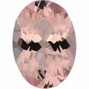 Lovely Morganite Loose Gem in Oval Cut, Medium Purple Red, 14.04 x 10.05 mm, 5.21 Carats