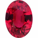 Low Price On  Untreated Ruby Loose Gem in Oval Cut, Dark Purple Red, 6.91 x 5.00  mm, 1.17 Carats