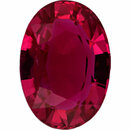 Magnificent  No Treatment Ruby Loose Gem in Oval Cut, Medium Purple Red, 7.29 x 5.19  mm, 1.26 Carats
