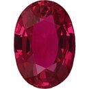 Pretty  No Heat Ruby Loose Gem in Oval Cut, Vibrant Purple Red, 7.07 x 4.96  mm, 1.13 Carats