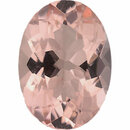 Quality Morganite Loose Gem in Oval Cut, Light Purple Pink, 13.98 x 10.03 mm, 4.94 Carats