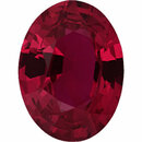 Super Deal On Ruby Loose Gem in Oval Cut, Vibrant Purple Red, 7.48 x 5.62  mm, 1.16 Carats