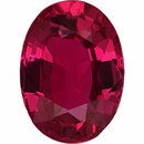 Super Pretty  Unheated Ruby Loose Gem in Oval Cut, Light Purple Red, 7.12 x 5.21  mm, 1.17 Carats