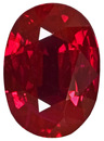 Finest Quality Ruby Gem, Super Clean Stone in Deep Blood Red Color, 9.0 x 6.9 mm, 2.27 carats - AGL Prestige Certificate - SOLD