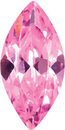 PINK CUBIC ZIRCONIA Marquise Cut Gems - Calibrated