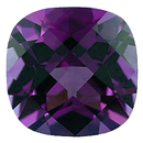 Imitation Alexandrite Antique Square Cut Gems