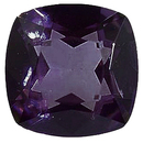 Imitation Amethyst Antique Square Cut Gems
