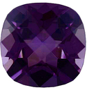 Imitation Amethyst Antique Square Cut Checkerboard Gems