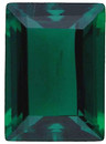 Imitation Emerald Cushion Cut Gems