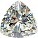 Trillion Cut Charles & Colvard MOISSANITE Gems Grade AAA 3.00 mm  to 9.00mm