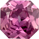 Unheated Eye Catching Radiant Cut Peachy Pink Sapphire Gem, GIA Certed, 6.42 x 6.38 x 3.27 mm, 1.1 carats