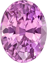 1.70 carats Unheated Pink Sapphire Gem in Oval Cut, 7.97 x 5.91 x 4.58 mm, 1.7 carats