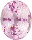 Bright & Lively Pink Sapphire Gem in Oval Cut, Baby Pink, 10 x 7.9 mm, 4.02 carats - SOLD