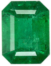 Glamorous Green Emerald Genuine Zambian Gemstone - Calibrated Size, Great Find, Emerald Cut, 8.1 x 6.2 mm, 1.76 carats - SOLD