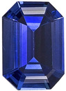 Special Ceylon Sapphire Gemstone - Excellent Clarity, Life & Cut, Emerald Cut, 0.83 carats