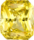 Unheated Yellow Sapphire Loose GIA Gem in Radiant Cut in Pure Yellow, 7.33 x 6.22 x 4.48 mm, 1.98 carats - With GIA Certificate