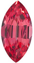 Grade GEM CHATHAM CREATED PADPARADSCHA SAPPHIRE Marquise Cut Gems  - Calibrated
