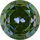 Nice Looking Alexandrite Loose Gem in Round Cut, Medium Blue Green to Vibrant Purple Pink, 4.45 mm, 0.44 Carats