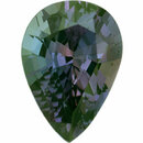 Excellent Alexandrite Loose Gem in Pear Cut, Medium Blue Green to Light Purple Red, 7.93 x 5.69  mm, 1.14 Carats