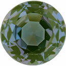 Magnificent Alexandrite Loose Gem in Round Cut, Light Blue Green to Light Pink Purple, 4.56 mm, 0.48 Carats