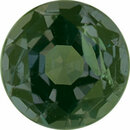 Unique Alexandrite Loose Gem in Round Cut, Dark Green Blue Medium Red Purple, 4.24 mm, 0.34 Carats