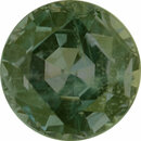 Fabulous Alexandrite Loose Gem in Round Cut, Medium Green Blue Medium Reddish Purple, 4.58 mm, 0.49 Carats